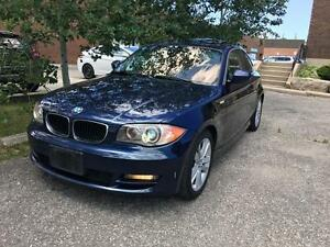 2011 BMW 128I, CERTIFIED, 6 SPEED MANUAL