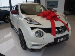 2018 Nissan Juke F15 MY18 NISMO X-tronic AWD RS White 8 Speed Constant Variable Hatchback Brookvale Manly Area Preview