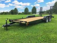 16FT Car Hauler Lowboy 7K Stand Up ramps Truro Nova Scotia Preview