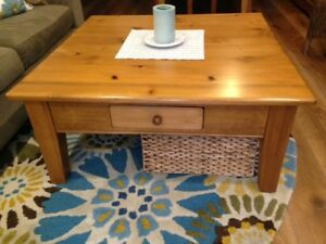 Large Wood Coffee Table