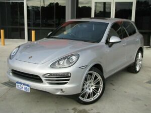2012 Porsche Cayenne 92A MY13 Diesel Tiptronic Silver 8 Speed Sports Automatic Wagon Maddington Gosnells Area Preview