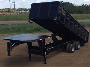 "2017 Double A, 102"" x 22FT Gooseneck Dump Trailer (22,000LB GVW)"