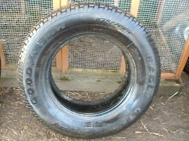 GOODYEAR EAGLE GT + 4 M + S 4 X 4 TYRE 235 X 70 X R16 WITH 8MM TREAD,