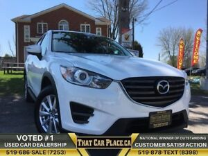 2016 Mazda CX-5 GX|$77Wk|NavCapable|PshToStrt|Bluetooth|FuelEffi