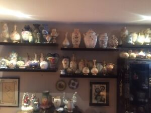 HUGE ROYAL BONN VASE COLLECTION