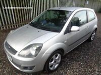 FORD FIESTA 1.2 FREEDOM 2006 3 DOOR SILVER 75,000 MILES M.O.T TILL 12/06/18 ONE PREVIOUS OWNER