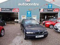 BMW 3 SERIES 2.0 318I SE TOURING 5d 141 BHP estate (blue) 2002