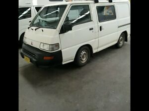 2007 Mitsubishi Express SG Window Van SWB 4dr Man 5sp 2.0 White Manual Van Airport West Moonee Valley Preview