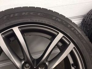 "Honda / Acura Wheels 17"" 215/55R17 Goodyear tires"