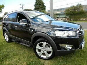 2013 Holden Captiva CG Series II MY12 7 AWD LX Black 6 Speed Sports Automatic Wagon Moorabbin Kingston Area Preview
