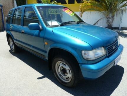 1998 Kia Sportage (4x4) Green 5 Speed Manual Wagon Wangara Wanneroo Area Preview