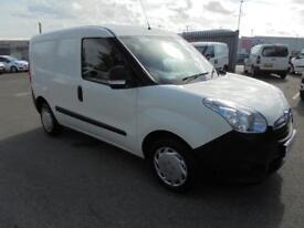 Vauxhall Combo L1 H1 2000 1.3 16V EURO 5 DIESEL MANUAL WHITE (2014)
