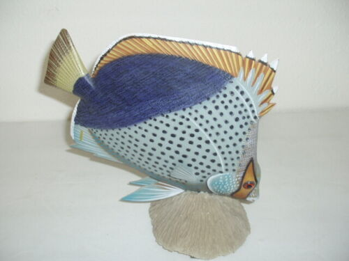 Wooden Painted Fish