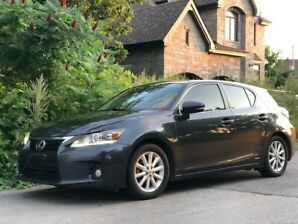 2011 Lexus CT200H Extended Warranty Included- $8800