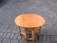 Pine Drop Leaf Gateleg Table ( Miniature )