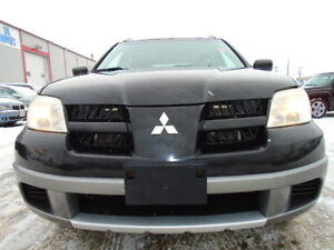 2006 Mitsubishi Outlander LS SPORT-AMAZING SHAPE--5 SPEED-MANUAL