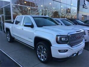 "NEW 2017 GMC SIERRA 1500 DENALI ULTIMATE PACKAGE 22""wheels 6.2 V"