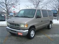 2002 Ford Econoline Wagon XLT 12 PASSENGER
