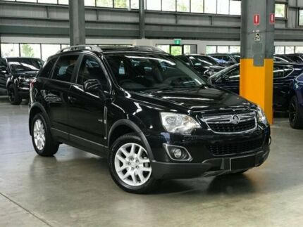 2013 Holden Captiva CG Series II 5 Wagon 5dr Spts Auto 6sp 2.4i (FWD) [MY12] Black Sports Automatic Port Melbourne Port Phillip Preview