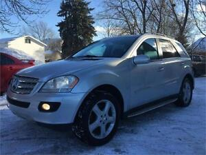 2008 MERCEDES ML550 4MATIC+V8+NAVIGATION+GARANTIE 1 AN INCLUSE