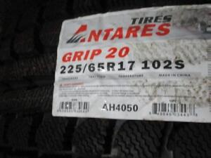 225/65 R17 ANTARES GRIP20 WINTER TIRES *BRAND NEW*