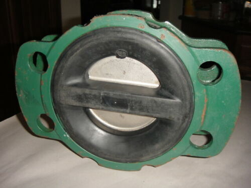 "NOS CENTER LINE SERIES 800 4"" BUTTERFLY CHECK VALVE CLC-4 S-01 2900-74"