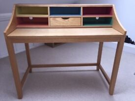 John Lewis Loft Desk, space saver with pull out top. Cost £225. Hardly used and in great condition.