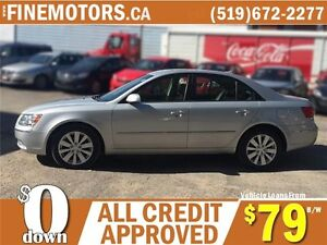 2010 HYUNDAI SONATA GL LIMITED EDITION * LEATHER * POWER ROOF London Ontario image 5