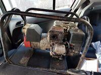 Honda GX160 petrol Generator 5.5hp. 2.7KV 110v -240v site safe