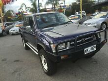 2000 Toyota Hilux LN167R (4x4) Blue 5 Speed Manual Utility Hillcrest Port Adelaide Area Preview