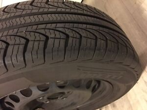 Pirelli rubber with steel rims