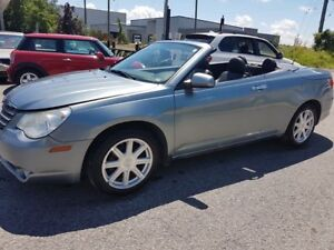 2009 Chrysler Sebring TOURING, CONVERTIBLE, LEATHER, 145 KMS