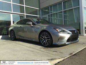 2015 Lexus RC 350 BLIND SPOT/NAV/BACK UP/HEATED AND COOLED SEATS