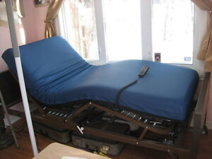 Electric bed, hospital, fully adjustable