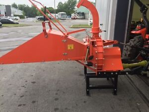 "WOOD CHIPPER 8"" DE LUXE *SPECIAL 60$ TRANSPORT*"