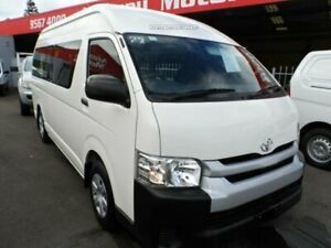2015 Toyota HiAce TRH223R MY15 Commuter White 6 Speed Automatic Bus Rockdale Rockdale Area Preview