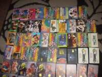 BT phone cards approx 500 muppets,101dalmations christmas,toy story and rare
