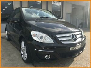 2008 Mercedes-Benz B200 245 08 Upgrade Turbo Black Continuous Variable Hatchback Blacktown Blacktown Area Preview