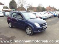 2005 (05 Reg) Suzuki Ignis 1.3 VVT GL 5DR Hatchback BLUE + LOW MILES ONLY 50000