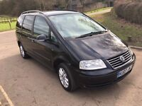 2007 Volkswagen Sharan 1.9 Tdi Turbo diesel 7 seater mpv 12 months mot very good condition
