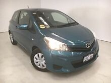 2013 Toyota Yaris NCP130R YR Black 4 Speed Automatic Hatchback Edgewater Joondalup Area Preview