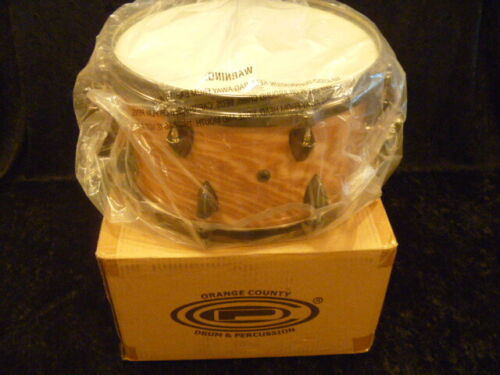 """2019 OCDP 13"""" x 7"""" Snare drum, never played, new, black chrome, die-cast hoops"""