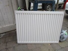 Radiator (800mm wiide, 600mm high) with hanging brackets