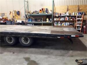 Used 14,000 lb Tilt trailer