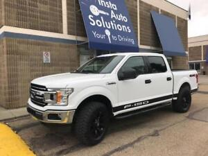 """2018 Ford F150 XLT Crew lifted 35"""" wheels decals"""