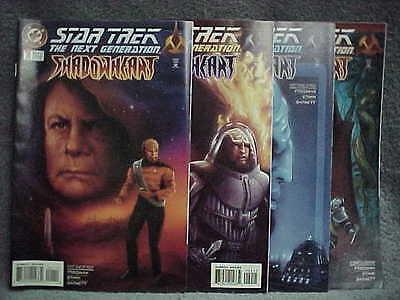 Star Trek Next Generation Shadowheart Complete 4 Issue Direct Sale Set Nrmt Mint