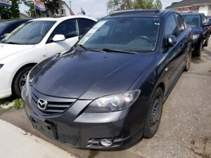 2005 Mazda Mazda3 GT! LOADED!FULLY CERTIFIED@NO EXTRA CHARGE!