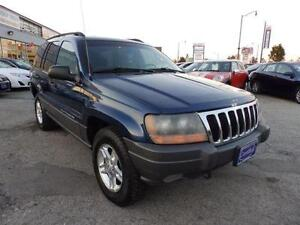 2002 Jeep Grand Cherokee Laredo, being sold AS-IS