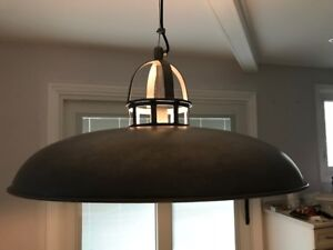 CB2 Factory Pendant Light - Factory Industrial Style - Like New