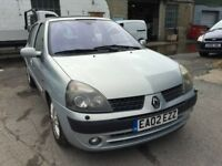 2002 Renault Clio Automatic, MOT Oct 2018, Genuine 59,000 Miles, Very Low! Drives Fantastic,